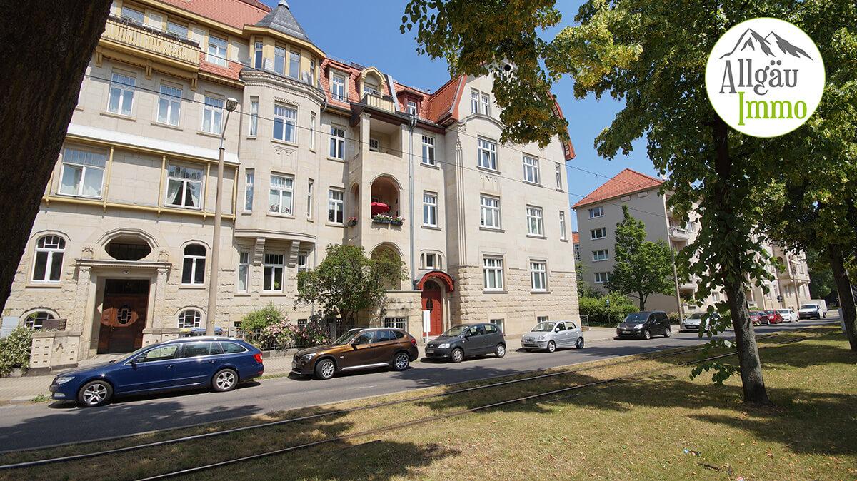 3 Zimmer EGT Wohnung in Dresden Verkaufszeit bis zur Beurkundung 3 Monate