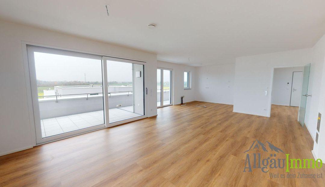 Exklusive 4 Zimmer Penthousewohnung in Friedberg! Erstbezug!